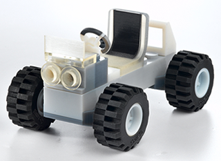 Car - 2K object printed with objet printer